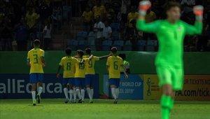 Brasil ya está en las semifinales del Mundial