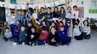 La clase del colegio Isabel de Villena que redactó la carta a Iniesta