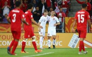 Con la victoria, Polonia ahora cuenta con un diferencial de más tres goles