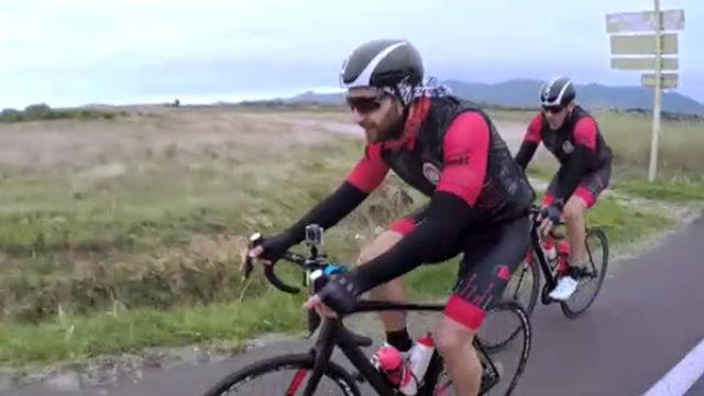 Dani Rovira sufre un brutal atropello en bicicleta durante la grabación de un documental solidario