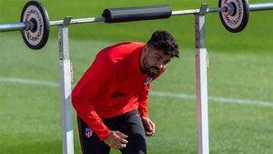 Diego Costa ha vuelto a los entrenamientos