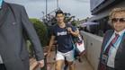 Djokovic se entrenó este lunes