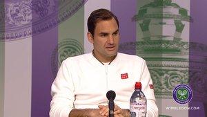 Federer admitió sentirse agotado tras el partido