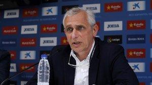 García Pont ha asegurado que Borja Iglesias no saldrá del equipo este mercado invernal.