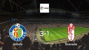 Getafe earned hard-fought win over Granada 3-1 at Coliseum Alfonso Pérez