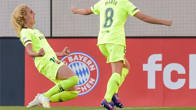 Hamraoui acerca al FC Barcelona a su primera final de Champions