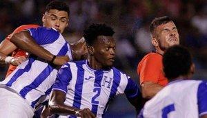 Honduras logró remontar y consiguió un buen triunfo ante Chile