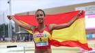 La hospitalense María Vicente está causando sensación en el atletismo español y europeo