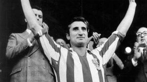 Isacio Calleja, una leyenda del Atlético