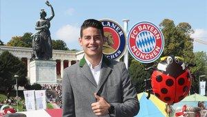 James Rodríguez está más cerca de seguir en el Bayern que de volver al Real Madrid