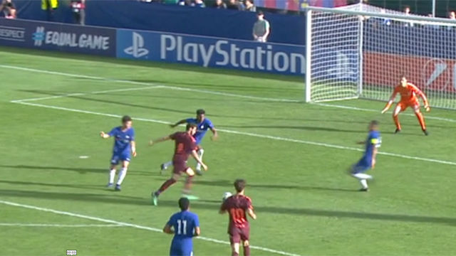 LACHAMPIONS | Chelsea - FC Barcelona (0-3): Abel puso el tercer tanto en el marcador
