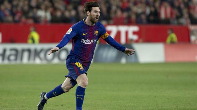 LALIGA | Sevilla - FC Barcelona (2-2): El gol de Leo Messi