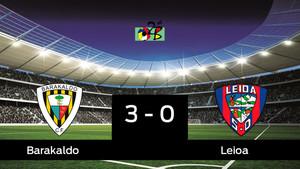 El Leioa pierde 3-0 frente al Barakaldo