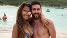 Leo Messi y Antonela Rocuzzo, felices de luna de miel