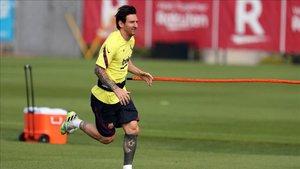 Leo Messi volverá a los entrenamientos la próxima semana