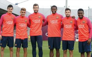 El Liverpool se ha fijado en varios jugadores del Barcelona B