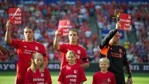 El FC Liverpool se une contra el racismo después de lo que ocurre en Estados Unidos