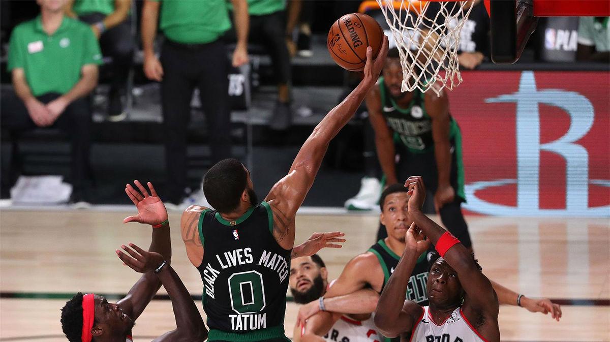 Los Celtics eliminan a los campeones en el séptimo partido (87-92)