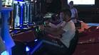 Los jugadores se divirtieron con los juegos