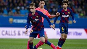 Los partidos del Barça B se paralizan dos semanas, pero el filial se seguirá entrenando