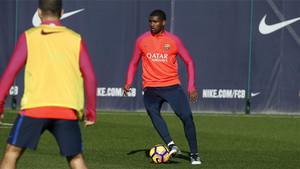 Marlon ya ha debutado con el Barcelona