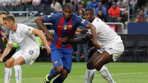Marlon Santos ha convencido al Barça