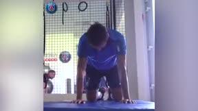 Neymar ya se entrena en Paris
