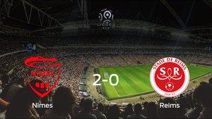 El Olimpique de Nimes gana 2-0 en su estadio frente al Stade de Reims