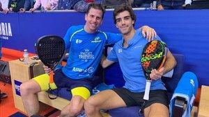 Paquito y Lebron muestran buenas sensaciones en su debut en Marbella
