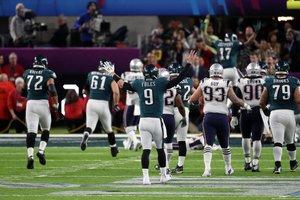 Patriots e Eagles se han enfrentado dos veces por el trofeo Vince Lombardi