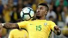 Paulinho, en una imagen con la camiseta de la selección de Brasil