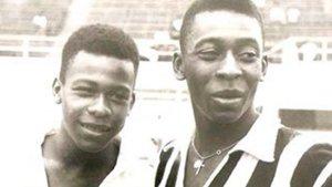 Pelé estaba muy unido a su hermano Zoca