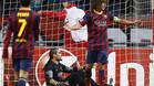 Pinto no pudo dejar su portería a cero ante el Ajax.