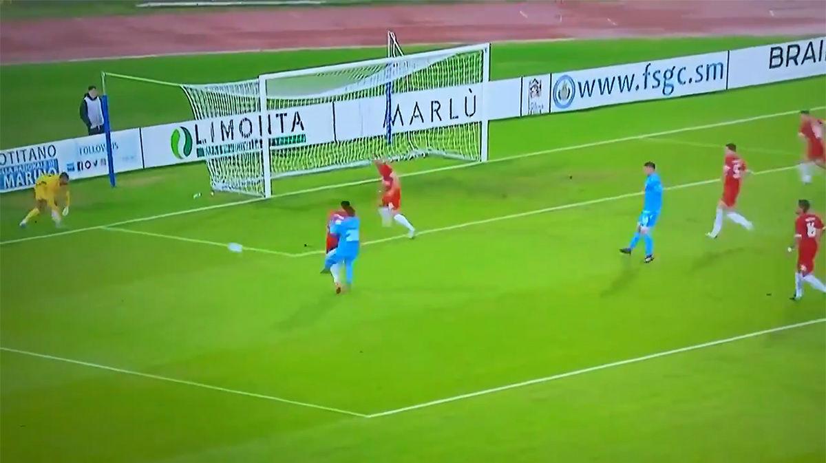 Por jugadas como esta hay que ver un partido entre San Marino y Gibraltar