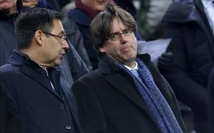 Puigdemont critica el intento del gobierno de politizar la final