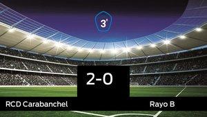 El RCarabanchel se lleva la victoria en su casa frente al Rayo B