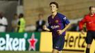 Riqui Puig, feliz por su estreno con el primer equipo en el Barça-Tottenham de la International Champions Cup