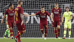 La Roma pasó por encima del Barça