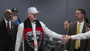 Rooney, a su llegada a Washington