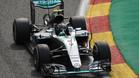 Rosberg no dio opción en Bélgica