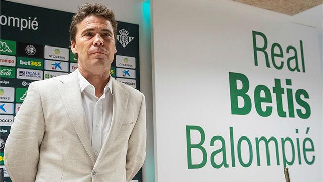 Rubi asume reto fantástico sin miedo y dice que el Betis debe ir a Europa sí o sí