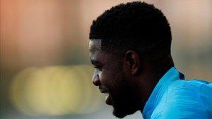 Samu Umtiti no está en el once inicial contra el Olympique de Lyon