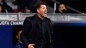 Simeone obtuvo un importante triunfo con el Atlético