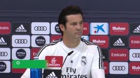 Solari no se cortó ni un pelo en la que pudo ser su última rueda de prensa como entrenador blanco