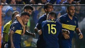 Tevez vuelve a ser figura con Boca