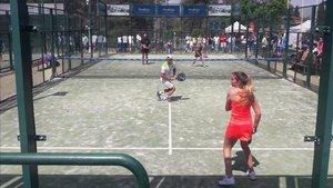 Torneo benéfico ROSAWEEK de padel en el Club Tenis Natación Sant Cugat.