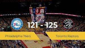 Triunfo de Toronto Raptors en el Hp Field House ante Philadelphia 76ers por 121-125