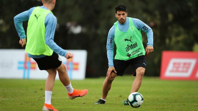 La Uruguay de Luis Suárez sigue con su puesta a punto para la Copa América