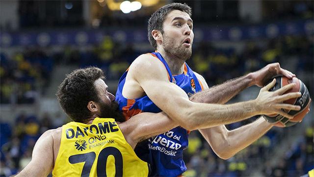 El Valencia Basket se impone al Fenerbahçe en la prórroga