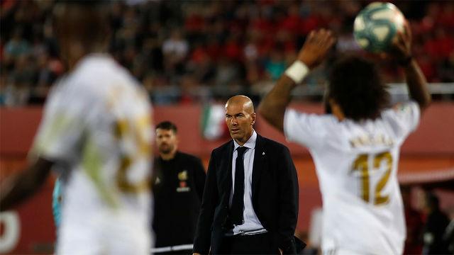 Zidane: No te voy a decir que estoy preocupado, pero...